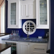 Wet bar cabinetry